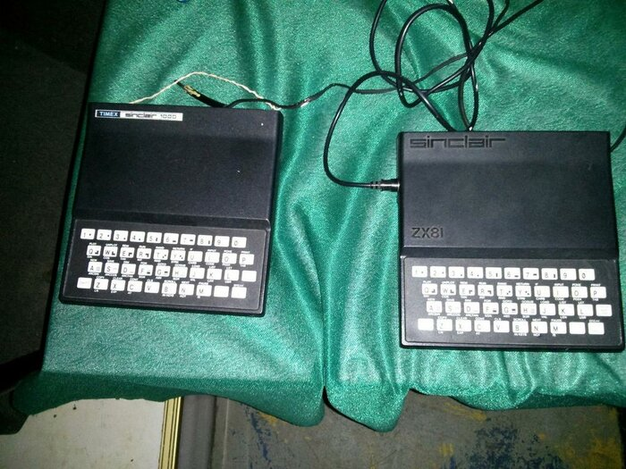 Timex 1000 and ZX81