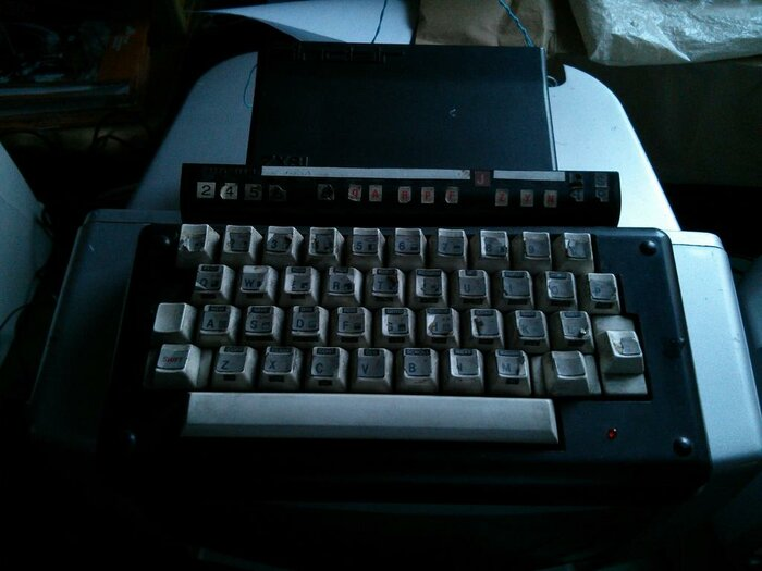 ZX81 with other keyboard