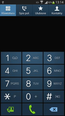 Dialer - keyboard