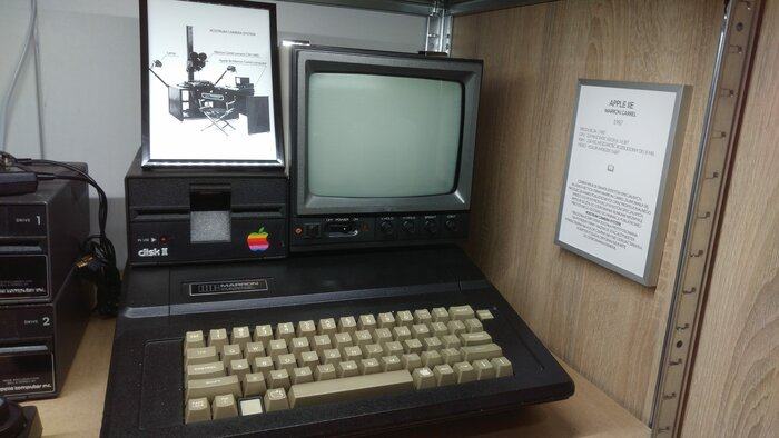 Marron Carrel Apple IIe