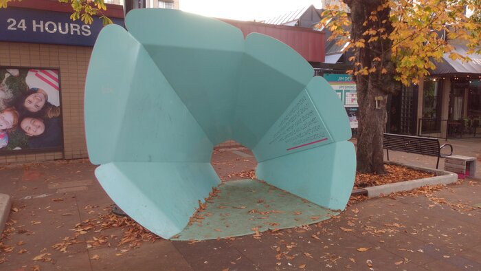 "Some ""Safe space"" monument"